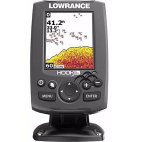 Sonar Fishfinder Sonda Echo Hook 3x Lowrance Colorido S/ Gps
