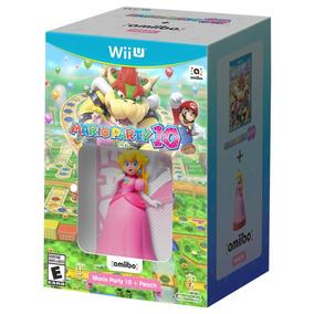 Mario Party 10 Wii U Incluye Amiibo Peach Nuevo Sellado