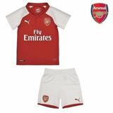 Conjunto Infantil Do Arsenal 2017 Oficial - Com Desconto