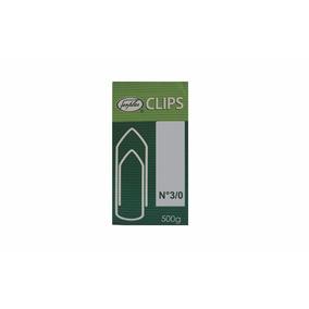 Clips 3/0 Caixa 500g Ferplas Galvanizado Novo