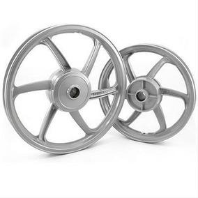 Roda Esportiva Prata (modelo Sport Mix) Titan 150 (disco)