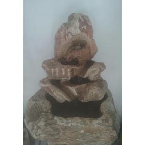 Fonte Feita Na Pedra Sabão Com Cascata De Água