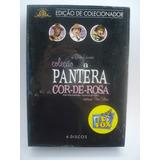 Box Coleção A Pantera Cor De Rosa (6 Dvds) Novo Orig Lacrado