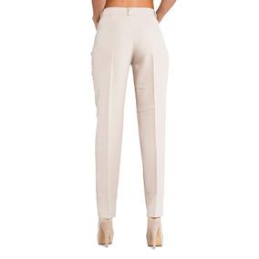 Pantalones A Cuadros Mujer Color Beige - Pantalones de Mujer en ... 9981e4659961