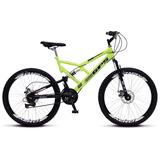 Bicicleta Colli Aro 26 Dp Suspensão Freios Á Disco - 220.13