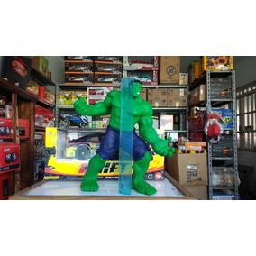 Boneco Grande 30cm Hulk Verde Marvel Avengers Etaqui