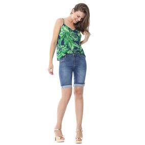 Bermuda Jeans Sawary Feminina Push Up - 251714