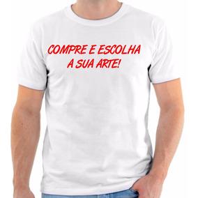 Camiseta Camisa Personalizada Retirar No Local