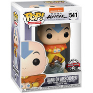 Funko Pop! Avatar Aang On Airscooter 541 Con Detalle