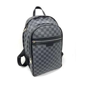 Backpack Mochila Lv Louis Vuitton Domino Negra Neverfull