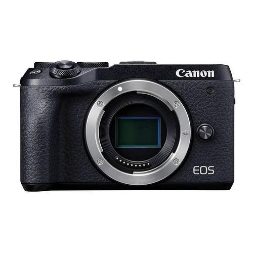 Canon EOS M6 mirrorless cor preto