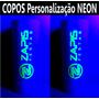 100 Copos Long Drink Personalizados Com Tinta Neon Festa