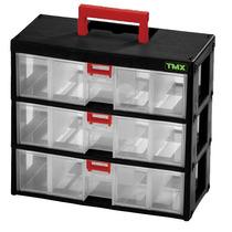 Organizadora Modulada Plástica Com 3 Gavetas