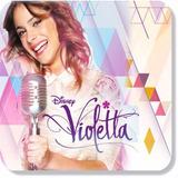 Painel Lona Aniversário Festa Violetta Violeta Banner