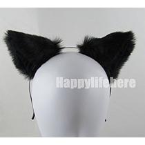Disfraz Las Mujeres Oído Del Gato De Halloween Del Partido