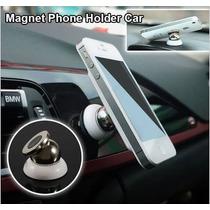 Holder Magnetico Soporte Para Carro De Iman Celular 360