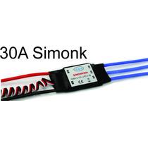 Esc 30a Simonk Com Bec Speed Control Rc Avião Helicóptero