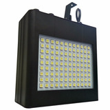 Strobo 108 Leds Sensor Rítmico Profissional 110v Luz Branca