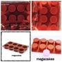 Molde De Silicon 8 Cavidades, Cupcakes, Mantecadas, Velas