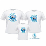 Kit Camisetas Aniversário Personalizada Festa Frozen Disney