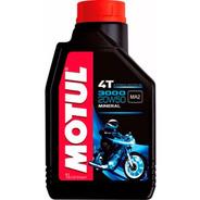 Aceite Motul 3000 4t 20w50 Mineral Lubricante En Sti Motos