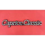 Emblema Caprice Classic Chevrolet