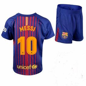 Kit Nino Barcelona 10 Messi 2017/18
