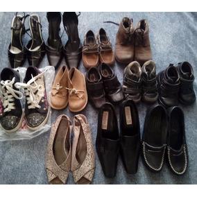Lote / Paca De Zapatos Para Dama, Y Niño