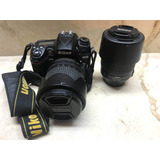 Cámara Nikon D7000 Usada + 2 Lentes