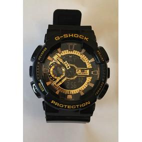 Casio Gshock Dorado Con Negro - Envío Incluido