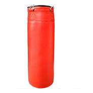 Bolsa De Boxeo 90 Cm Reforzada Box Con Relleno Y Cadena