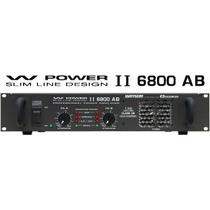 Ciclotron W Power Ii 6800 Ab Amplificador Potencia Frete0