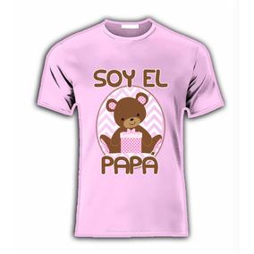 Playera Para Baby Shower Con Nombre Y Tio Tia, Mama, Papa