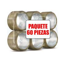 Cinta Canela Transparente Paquete 60 Piezas Envio Gratis