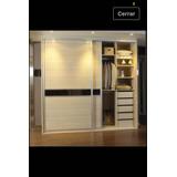 Closet Con Puertas En Melamine Y Kid De Plastimold