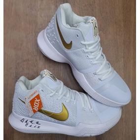 944113e049f2a Zapatillas Nike Kyrie Irving 2018 - Tenis Blanco en Mercado Libre ...