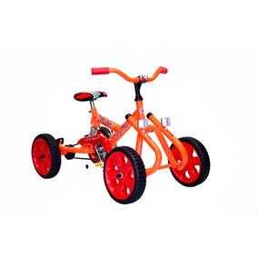 Cuatri Karting Kids Para Chicos A Pedal C/ Suspension Cadena