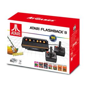 Atari Flashback 8 C/ 105 Jogos Classicos Novo Lacrado