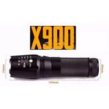 Lanterna Tatica X900 Original Ecooda Promoção Super Potente
