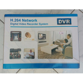 Dvr Stander Alone Compreensão H.264 Network - Pronta Entrega