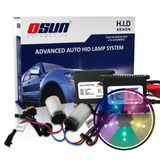 Kit Xenon Hid Osun Dc Luces Baja Y Dual Colores Extremos