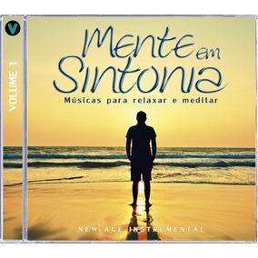 Cd Mente Em Sintonia Vol. Musicas Para Relaxar E Meditar