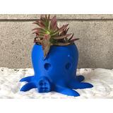Maceta Cactus Suculentas Plantas Interior Y Exterior Pulpo