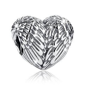 Bamoer Love Heart Baratos Encantos De Plata Real Para La Pu
