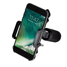 Monte En Bicicleta Bicicleta Rock Poderoso Teléfono -negro