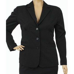 Blazer Feminino Social Plus Size Do 44 Ao 54