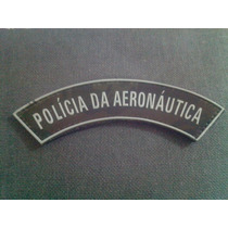 Distintivo Emborrachado Manicaca Polícia Da Aeronautica