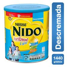 Leche Nido Forticrece Descremada 1.440g Tarro