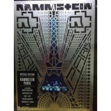 Rammstein París Fan Edition 2 Cd + Dvd