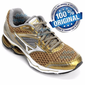 Tênis Mizuno Wave Creation 17 Golden Run Lançamento 2016
